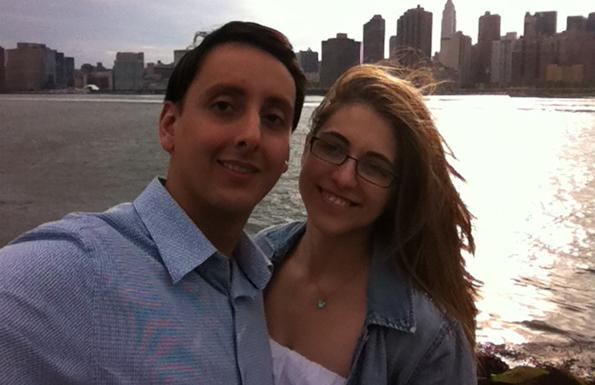 David & Christina in New York