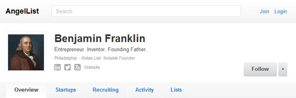Benjamin Franklin: Patron of American Entrepreneurs