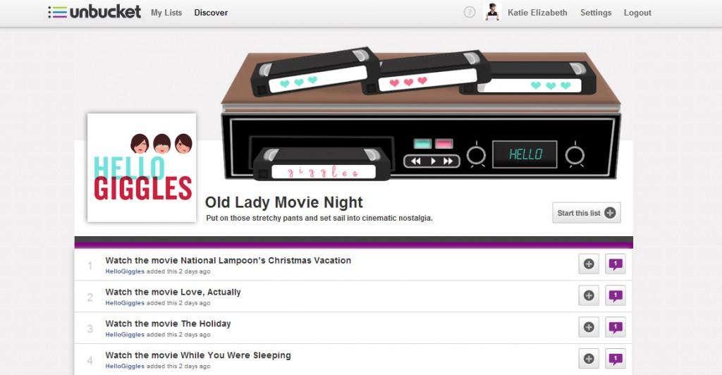 Old Lady Movie Night (HelloGiggles x Unbucket)